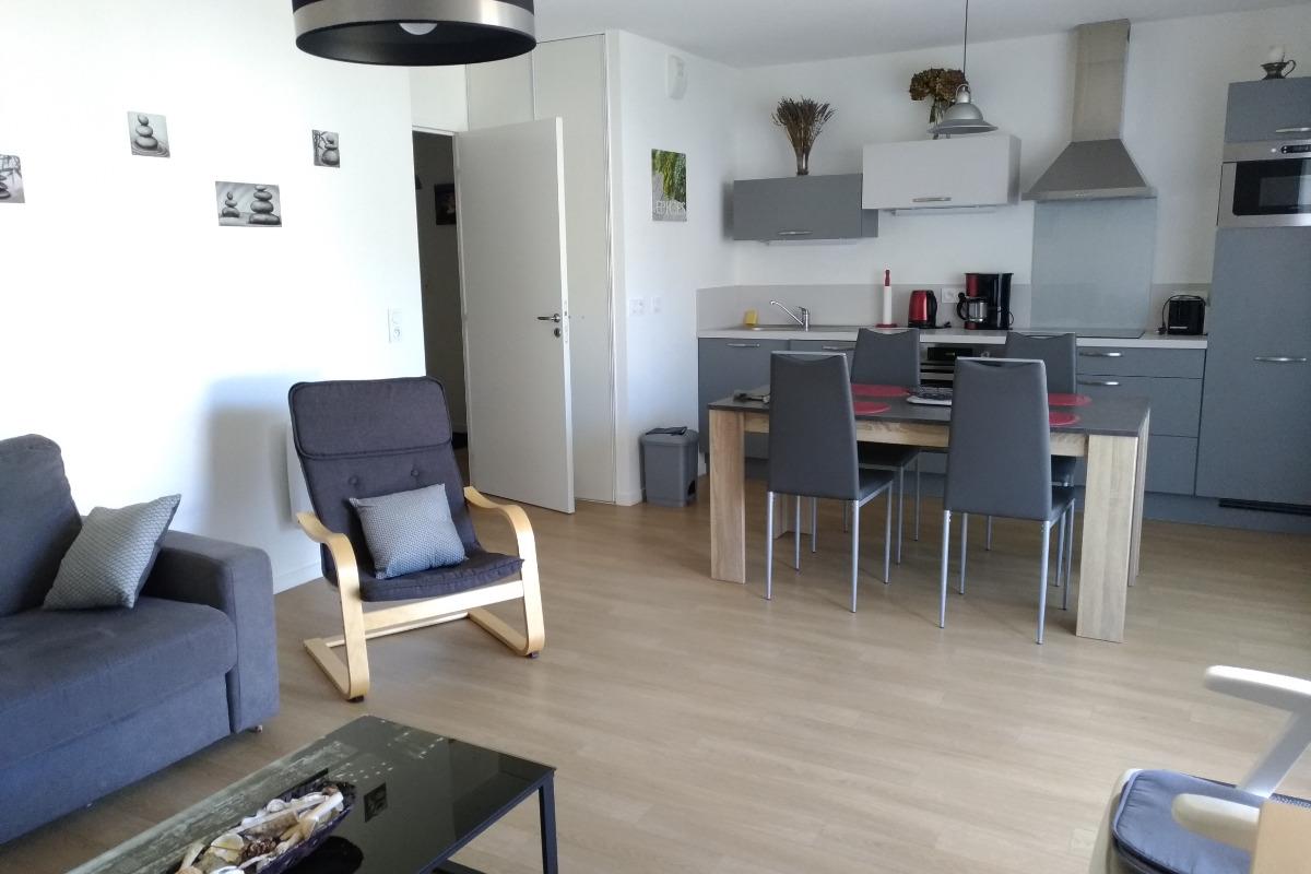 cuisine aménagée - Location de vacances - Sarzeau