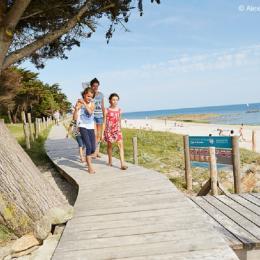 la plage du ROALIGUEN - Location de vacances - Sarzeau