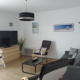 le salon - Location de vacances - Sarzeau