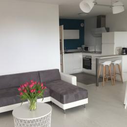 Intérieur Salon, Séjour, Cuisine - Location de vacances - Guidel