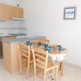 Cuisine aménagée (lave vaisselle four multifonction, plaque vitrocéramique) - Location de vacances - Saint-Philibert