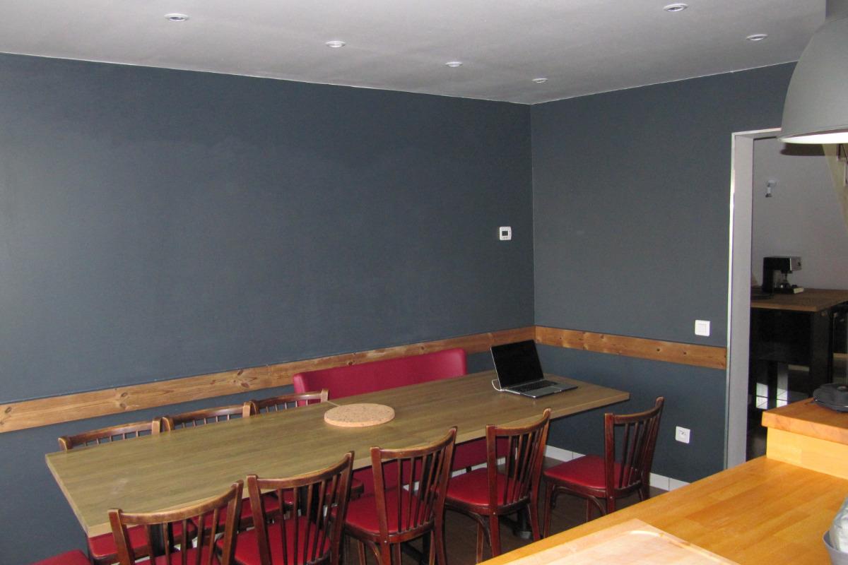 cuisine salle à manger intérieur - Location de vacances - Le Palais