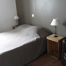 chambre N°1    1er étage - Location de vacances - Le Palais