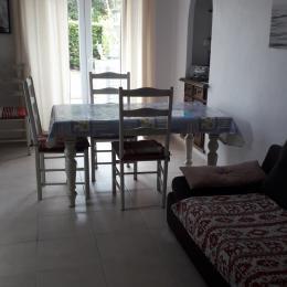 salon salle à manger 1 - Location de vacances - Quiberon
