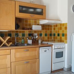 Le coin cuisine - Location de vacances - Quiberon