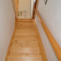L'escalier qui mène à la chambre mansardée - Location de vacances - Quiberon