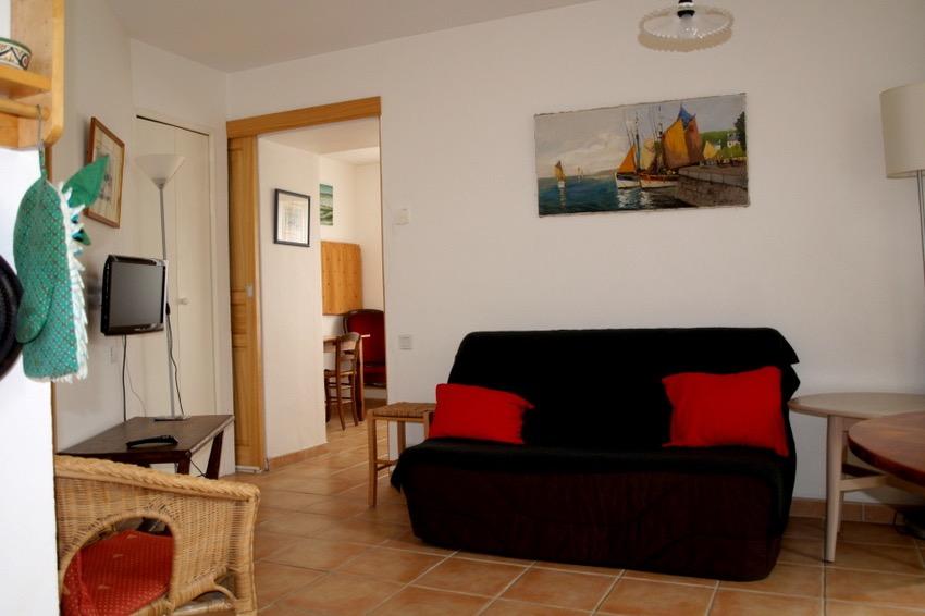 Le séjour avec le BZ - Location de vacances - Quiberon