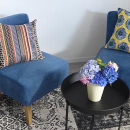 Les hortensias au petit salon  - Chambre d'hôtes - Trédion