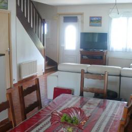 salle à manger - Location de vacances - Larmor-Plage