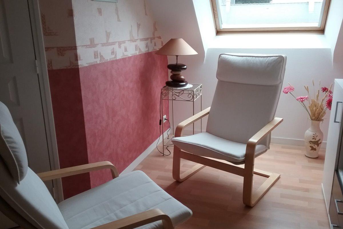 petit salon - Chambre d'hôtes - Plouharnel