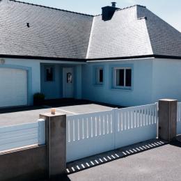 Maison coté façade - Location de vacances - Erdeven