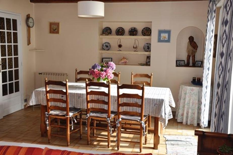 Salle à manger - Location de vacances - Pénestin