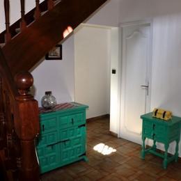 Hall et escalier - Location de vacances - Pénestin