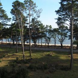 vue du balcon - Location de vacances - Saint-Philibert