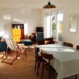 La grande pièce à vivre de 35m2  - Location de vacances - Erdeven