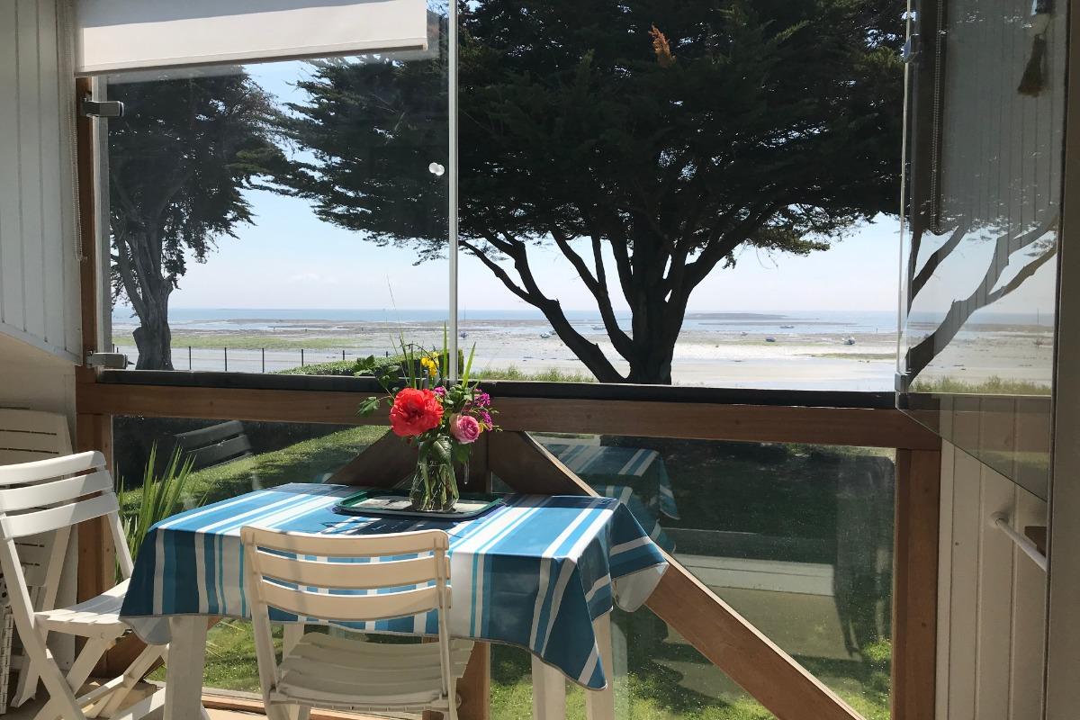 Loggia panoramique , toutes saisons - Location de vacances - Sarzeau