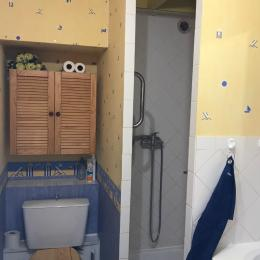 salle d'eau - Location de vacances - Sarzeau