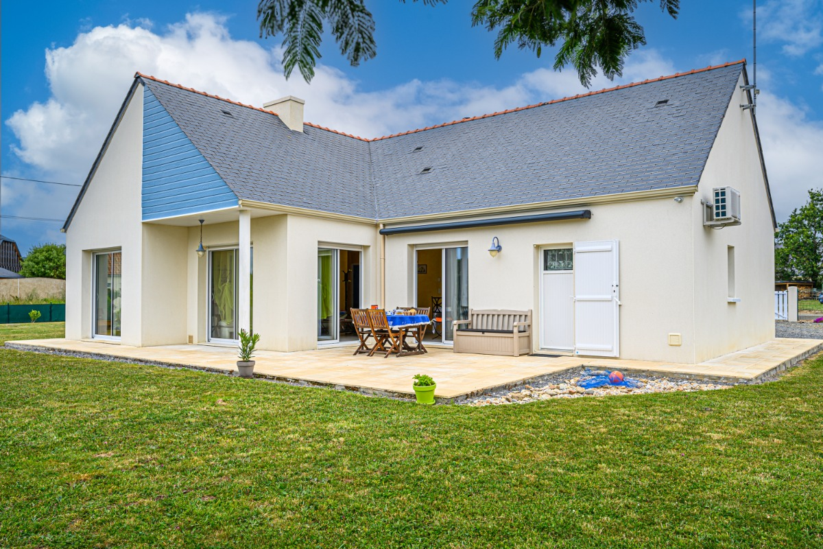 vue extérieure de la facade - Location de vacances - Pénestin