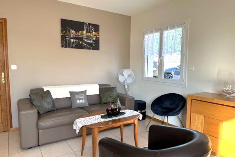 cuisine ouverte - Location de vacances - Landévant