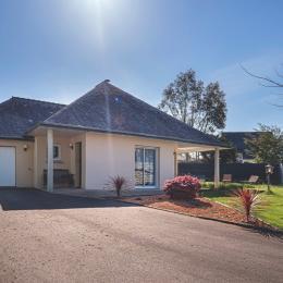 jardin privé - Location de vacances - Landévant