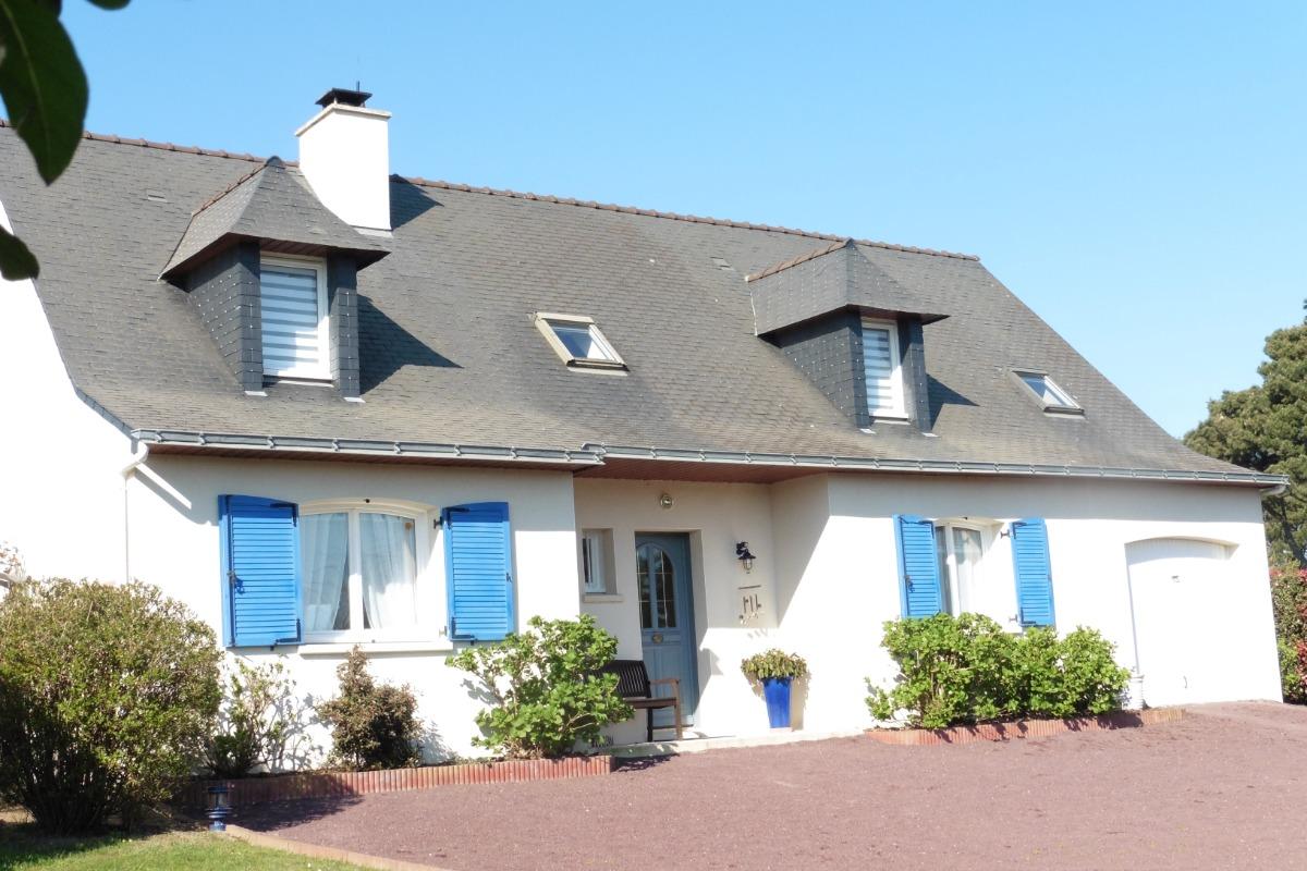 La chambre avec vue sur la Baie de Quiberon! - Chambre d'hôtes - Locmariaquer