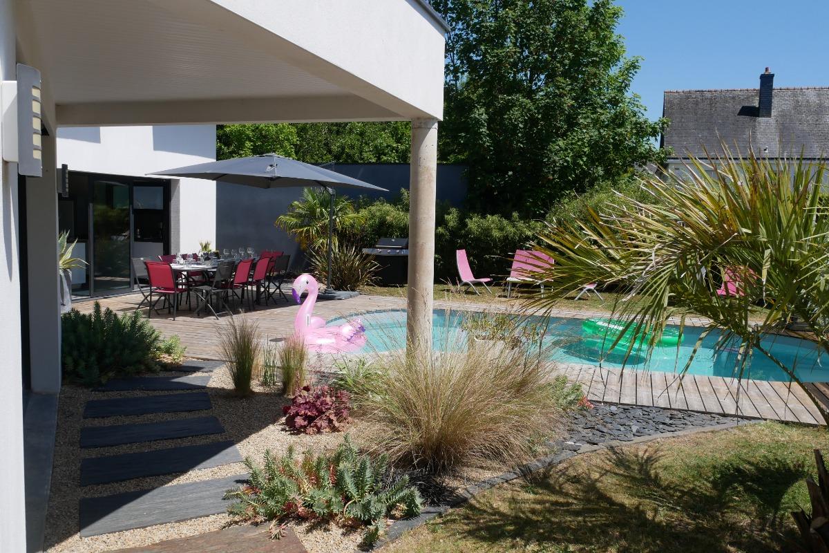 La piscine  - Location de vacances - Erdeven