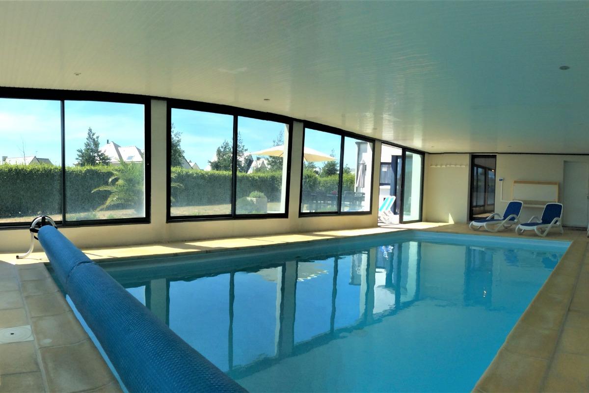 La piscine 8 m x4 m 2 niveaux - Location de vacances - Plouhinec