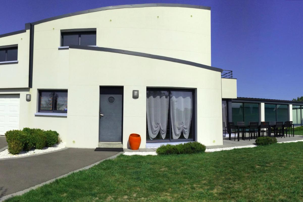 Façade de la maison - Location de vacances - Plouhinec