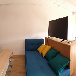 Entrée, accès salon salle à manger - Location de vacances - Carnac