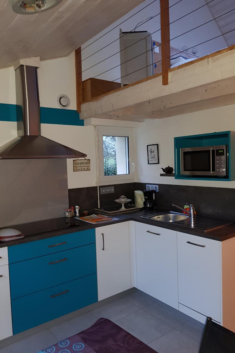 coin cuisine - Location de vacances - Séné