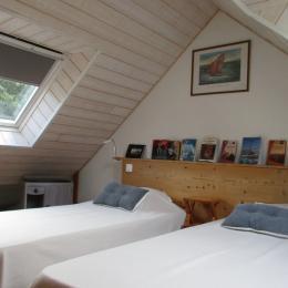 la chambre en mezzanine - Location de vacances - Séné