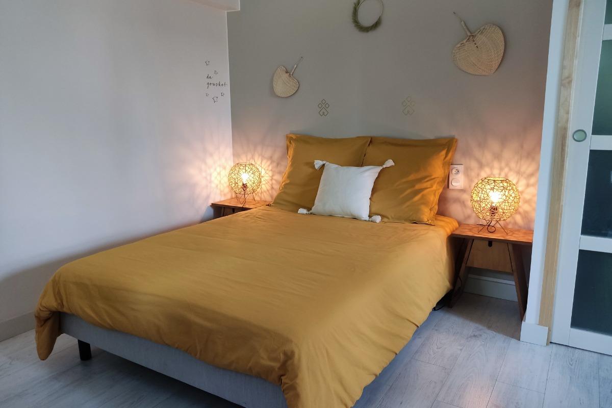 jardin privatif au calme et ombragé - Location de vacances - Plumergat