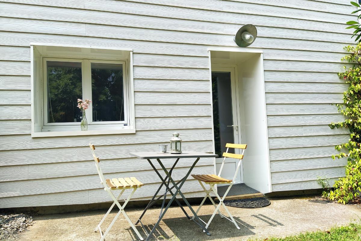 Votre lit fait à l'arrivée chez TY KAOUENN - Location de vacances - Plumergat