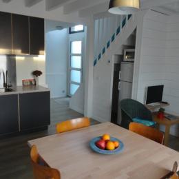 la pièce à vivre - Location de vacances - Séné