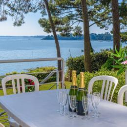 Le petit salon - Location de vacances - Larmor-Baden