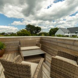 terrasse privative plein sud - Location de vacances - Carnac