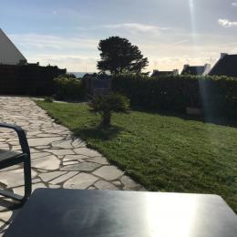 Vue de la terrasse  - Location de vacances - Saint-Gildas-de-Rhuys