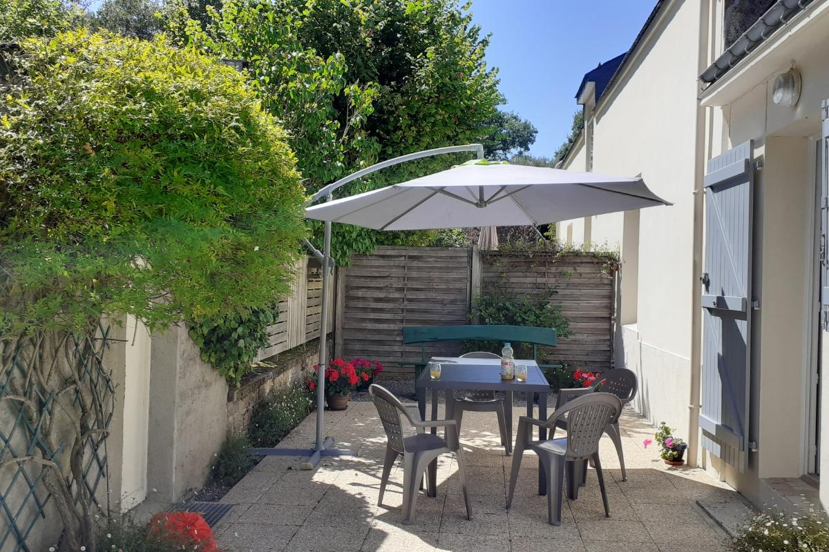 Terrasse - Location de vacances - Ploemel