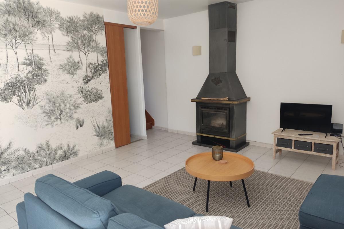 le salon - Location de vacances - Plumergat