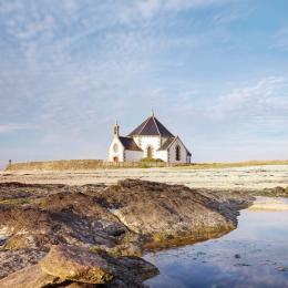 chambre grise - Location de vacances - Sarzeau