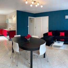 Chambre rouge - Location de vacances - Sarzeau