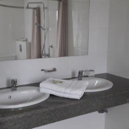 salle d'eau - Location de vacances - Theix-Noyalo