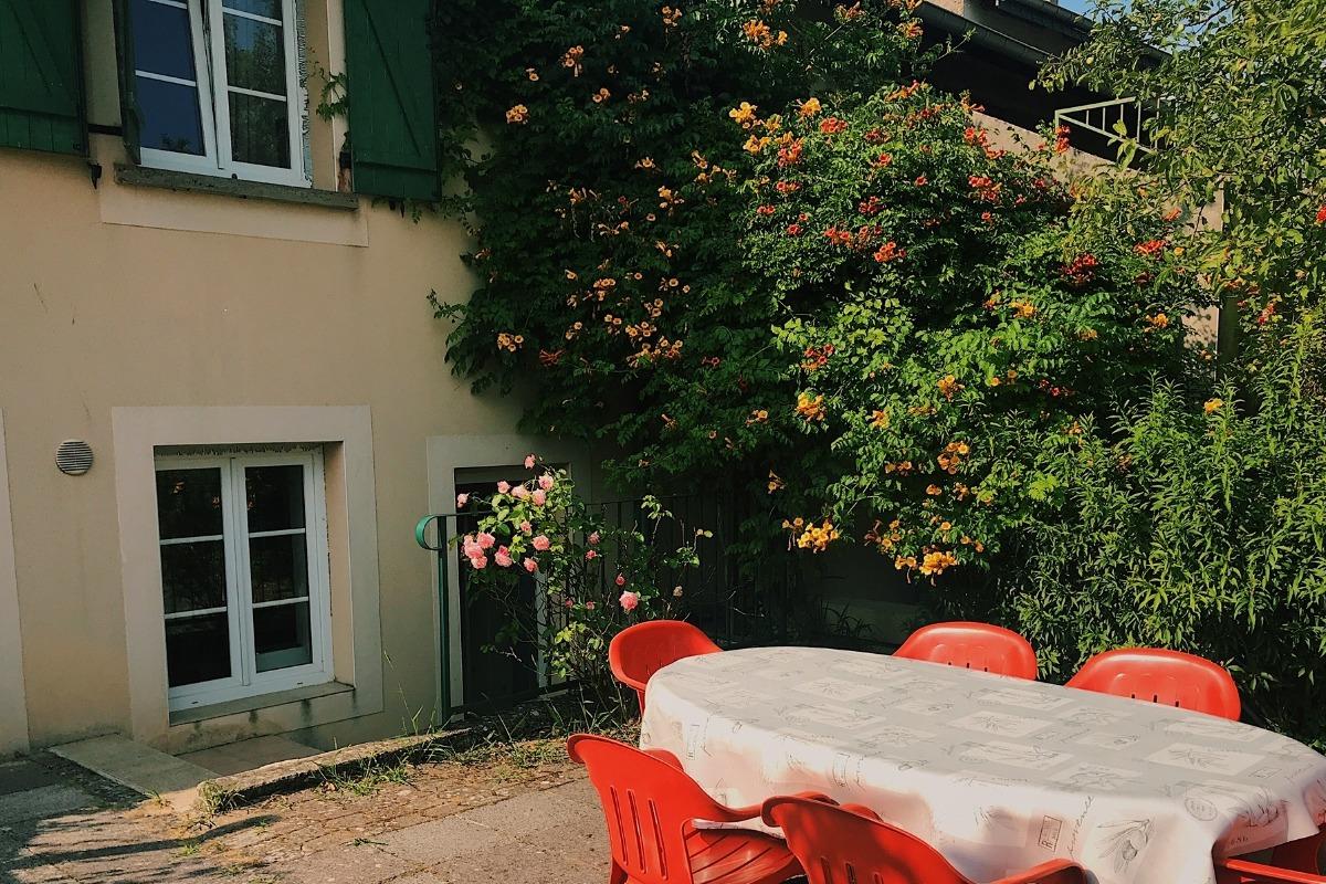 Le jardin et sa terrasse - Location de vacances - Luttange