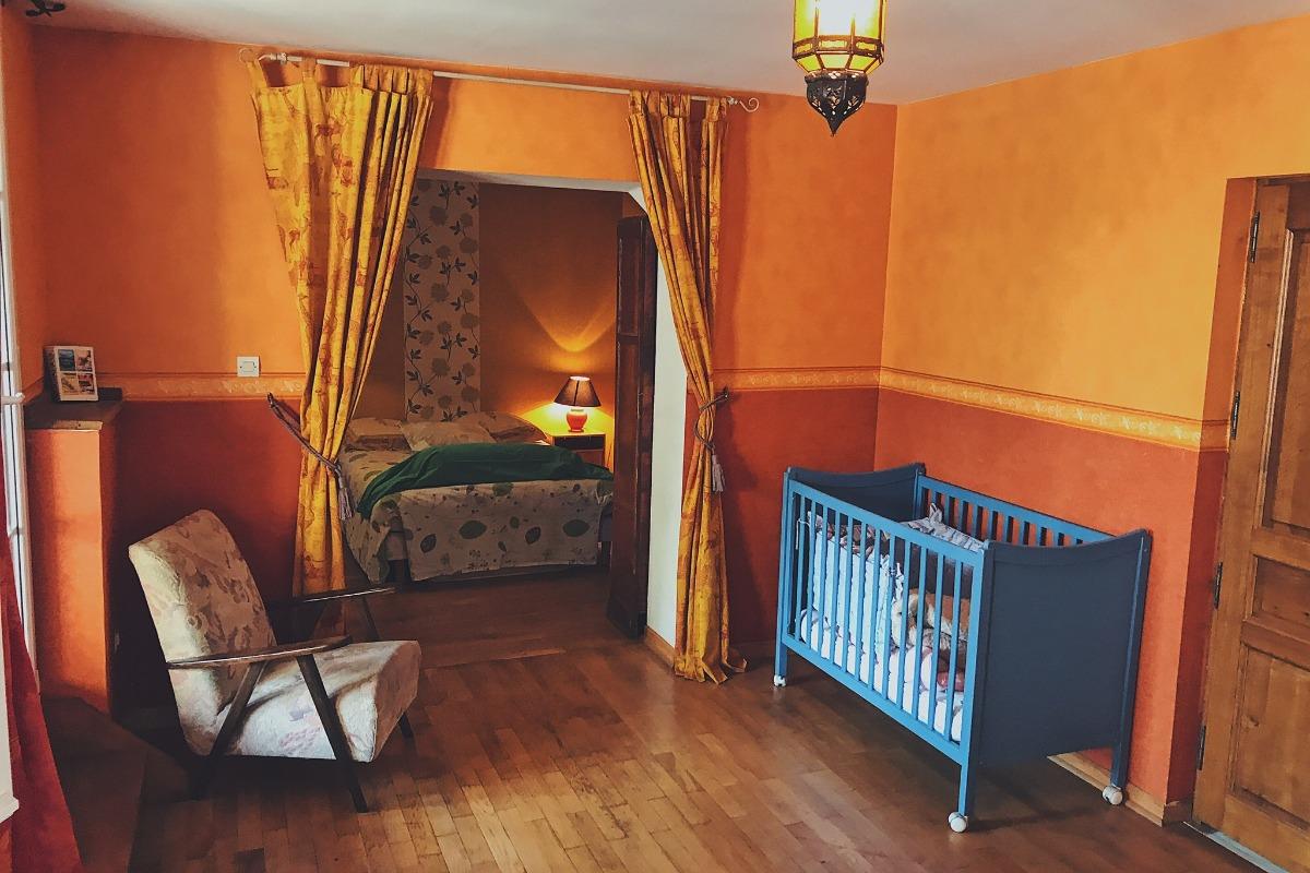 La grande chambre - Location de vacances - Luttange