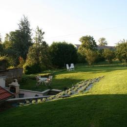 terrasse et jardin ouvert sr campagne - Location de vacances - Marieulles