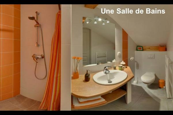 salle d'eau - Chambre d'hôtes - Marieulles
