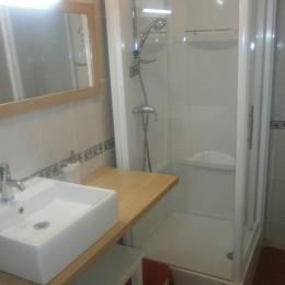 salle d'eau  - Location de vacances - Sorbey