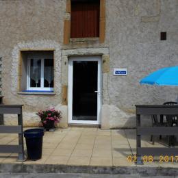 terrasse accueillante - Location de vacances - Sorbey