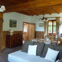 salon, salle à manger - Location de vacances - Dabo
