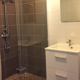 Salle de bain avec douche - Location de vacances - Waldwisse